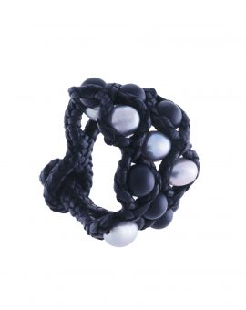 Onyx Labyrinth Bracelet
