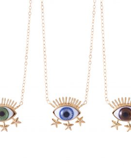 The Third Eye With Stars Necklace