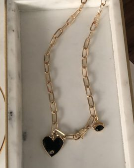 COLLAR ESLABONES CORAZON